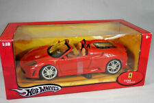 Hot Wheels Ferrari F430 Spider in rot  - Modellauto 1:18 - MIB