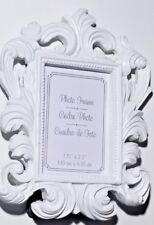 "Kate Aspen Baroque Photo Frame 2.5"" x 1.75'' White, 24 Frames"