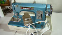 Vintage Toyota/Sloan Ashland Sewing Machine with foot pedal,manual,case  EC