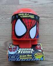 (New / Sealed) BONKAZONKS Marvel Spider-man Headquarters w/ 2 Figures