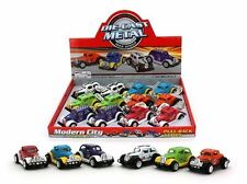 DIE CAST METAL PULLBACK OLD SCHOOL RACER CAR 9CM NOVELTY TOY HOBBY TRICK KIDS