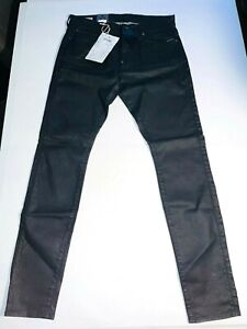 G Star Raw Black Revend Skinny Jeans - NWT - RRP $160 - Sizes 28, 29, 33, 34, 36