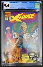 X-Force #1 CGC 9.4  8/91 3745768003 - 1st Appearance of G.W. Bridge