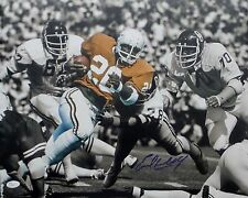 Earl Campbell Signed Autographed 16X20 Photo vs: Oklahoma JSA Authenticated