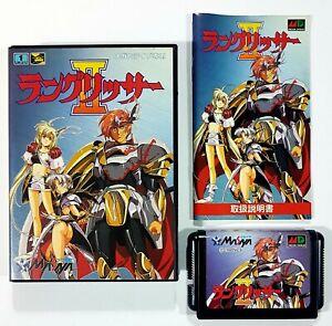 Sega Mega Drive The Langrisser II (Warsong) Jap Ntsc Cib 1994 Was Simulation