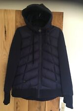 Ladies Womens Michael Kors Coat Jacket Navy Blue Down Fill Large L
