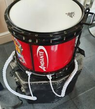 More details for andante drum (twin snare ) marching band drum harness andante drum practice pad+