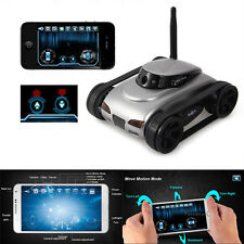 777-270 i-spy WiFi RC Tank Car Video FPV Camera APP By Iphone Android 2MP Toy
