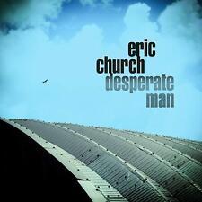 Eric Church DESPERATE MAN Gatefold EMI RECORDS NASHVILLE New Sealed Vinyl LP