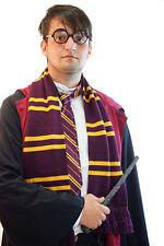 GIORNATA MONDIALE DEL LIBRO-Harry Potter-procedura guidata Set Sciarpa-Bacchetta-Occhiali Bambini Set Dress Up