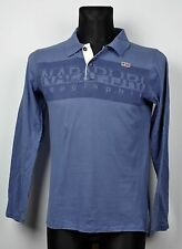 NAPAPIJRI Polo Shirt XS Mens Henley Boys 170/16 Collared Top Long Sleeved Jacket