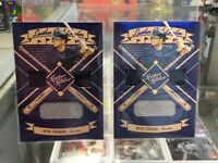 2019 Panini Leather & Lumber KYLE TUCKER Triple Relic (2) Card LOT Astros