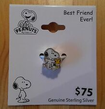 SNOOPY WOODSTOCK PEANUTS - 925 Sterling Argento Catene-RIMORCHIO/Nuovo & OVP!!!