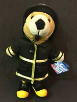 Vintage Patriot Bear Fireman Firefighter Firechief #1 Brand New MINT! J.J. WIND