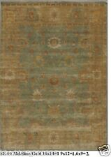 HAND KNOTTED 6x9 180x270 OUSHAK PERSIAN ORIENTAL AREA RUG WOOL CARPET ALFOMBRAS