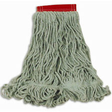 Rubbermaid FGD25306GR00 Super Stitch Blend Mop, Green, Large