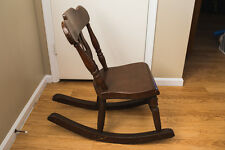 Rocking Chair Antique Wood Slipper Rocker Nursing Chair
