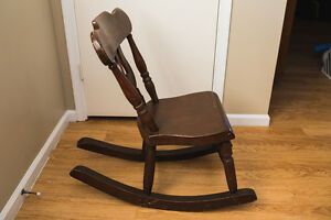Rocking Chair Antique Wood Slipper Rocker Nursing Chair