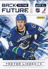 12-13 Limited Trevor Linden Zack Kassian /199 Back To The Future Canucks 2012