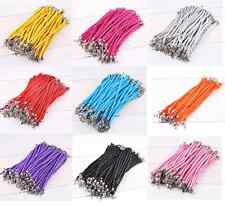 New Bright Mixed Colours PU Leather Cute Womens Wristbands Bracelets Free Post