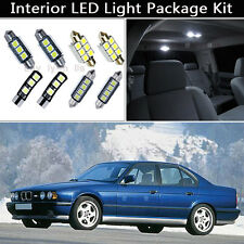 18PCS Canbus LED Interior Lights Package kit Fit 97-2003 BMW 5 Series E39 M5 J1