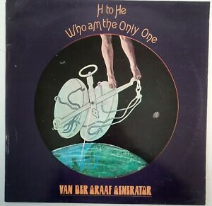 Van Der Graaf Generator H To He Who Am The Only One - Charisma 6369 907 A 1971