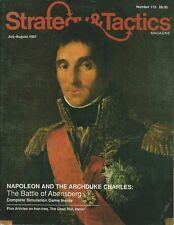 Strategy & Tactics S&T#113 Bonaparte Series Abensberg Napoleon & Charles Unpunch