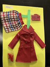 julia Outfit Vintage Barbie Leather Weather 1751 Oberteil Fehlt