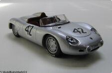 Porsche 718 RS 60 Spyder 1959 in silber metallic Roadster Scale 1:43