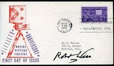 ROBERT WISE: Oscar-Winning Director: 1944 Movie Anniversary FDC Autographed