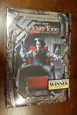 Sweeney Todd - The Demon Barber of Fleet DVD - BRAND NEW and SEALED