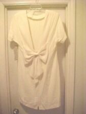 """Women Size 14 Solid Ivory Dress By Habits Sexy Backless """"V"""" Design Wedding Party"""