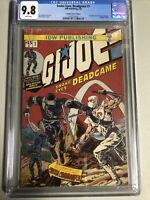 GI JOE SNAKE EYES DEADGAME #1 CGC 9.8 INCREDIBLE HULK #181 Homage Variant NM