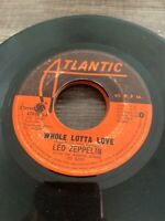 "Led Zeppelin 45 rpm Philippines 7"" whole lotta love"