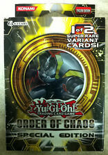 YuGiOh Order of Chaos Special Edition SE FACTORY SEALED English 3 packs