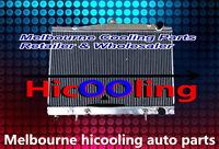 Alloy Radiator for Nissan Pintara /Skyline R33/ R34 Auto Manual with sensor hole
