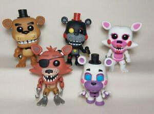 Funko Pop FNAF Five Nights Freddy's Lot Helpy Funtime Pirate Foxy Lefty Freddy