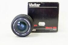 Vivitar 28mm f/2.8 MC MACRO 1:6x Wide Angle Lens For Minolta M/MD Mount (VM286)