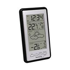 Technoline WS 9130-IT Silber-Schwarz Wetterstation mit Vorhersage Temperatur