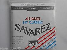 Savarez 540ARJ Red Alliance Normal/High Silver Classical Guitar Nylon Strings