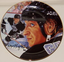"WAYNE GRETZKY Los Angeles Kings Gartlan USA 8 1/2"" Plate 1989 ""The Great One"" 99"