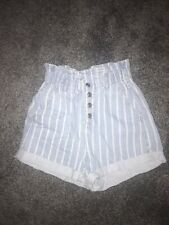 Topshop Denim Paperbag Shorts 8