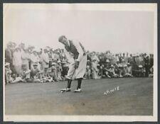 1928 Johnny Farrell Wins Miami Beach (Florida) Golf Championship Vintage Photo