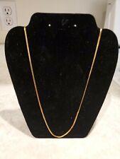 Goldtone Necklace Vintage Monet Chain