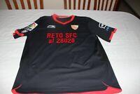"Camiseta PREPARADA JUEGO SEVILLA FC 2011-12 LFP Li-Ning 12 KANOUTE Talla ""L"""