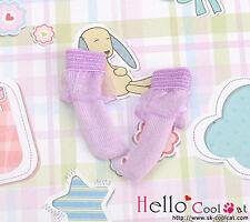 ☆╮Cool Cat╭☆【KS-A15】Blythe/Pullip(1/6 Doll)Lace Top Ankle Socks # Purple