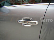ABS Plated Chrome door handle covers silver color Trim fit  AUDI Q5 2013-2016
