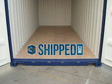 NEW 20' INTERMODAL SHIPPING CONTAINER - HOME & BUSINESS STORAGE in PAN HANDLE FL