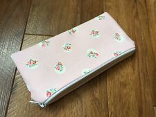 Fabric Pencil / Make Up / Glasses Case Made With Cath Kidston Floral Spot Pink