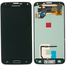 Original Samsung Galaxy S5 SM G900F display lcd touch screen glass black